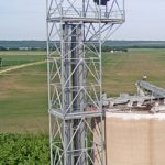 14'x16'x174' Bucket Elevator Support Tower